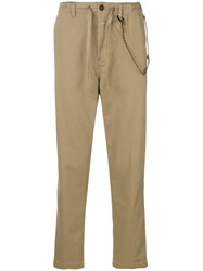 Closed Elasticated Waist Chinos Neutrals
