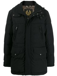 Belstaff Short Padded Coat Black