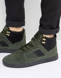 Supra Bandit Suede Mid Trainers Green