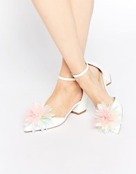 Asos Stand Out Heels White