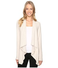 B Collection By Bobeau Amie Cardigan Oatmeal Women's Sweater Brown