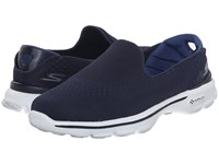 Skechers Go Walk 3 Dominate Navy Blue Women's Walking Shoes Multi