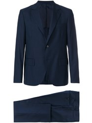 Massimo Piombo Mp Two Piece Suit Blue