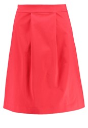 More And More Pleated Skirt Red Currant