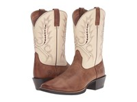 Ariat Sport Outfitter Burro Brown Cream Cowboy Boots
