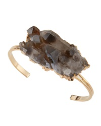 Alisa Michelle Freeform Smoky Quartz Cuff