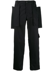 Craig Green Flap Panel Cargo Trousers Black