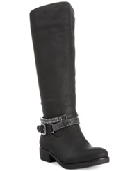 Style And Co. Wardd Tall Wide Calf Moto Boots Only At Macy's Women's Shoes