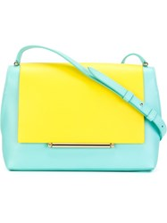 Delpozo 'Bo' Satchel Bag Blue