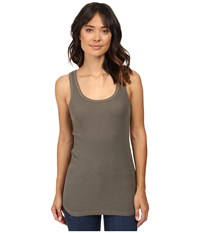Splendid Thermal Tank Top Military Olive Women's Sleeveless