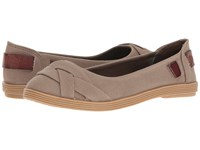 Blowfish Gallo Brown Ranch Canvas Women's Flat Shoes Gray