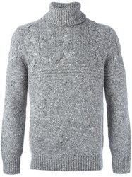 Brunello Cucinelli Turtle Neck Jumper Grey