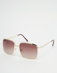 Jeepers Peepers Aviator Sunglasses Gold