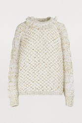 Maison Ullens Chunky Knit Sweatshirt Multicolor Sole