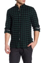 Gilded Age Check Print Long Sleeve Shirt Multi