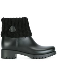 Moncler 'Ginette' Boots Black