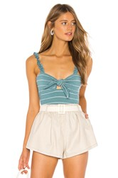 Privacy Please Janelle Top Turquoise