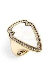 Baublebar Women's Arrowhead Ring Howlite