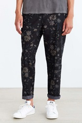 Your Neighbors Milo Floral Linen Pant Black Multi
