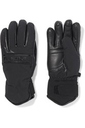 Bogner Fire And Ice Isa Padded Leather Shell Gloves Black