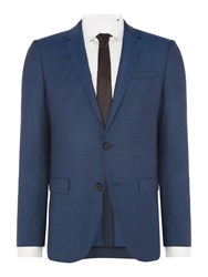 Hugo Men's Harvey Getlin Mohair Look Two Piece Suit Teal