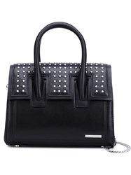 Thomas Wylde Small Studded Tote Black