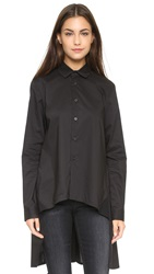 Y 3 A Line Shirt Black Core White