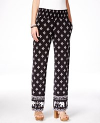 Inc International Concepts Printed Wide Leg Pants Only At Macy's Elephant Floral