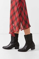Urban Outfitters Tary Cowboy Boot Black Multi
