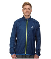Salomon Agile Jacket Midnight Blue Big Blue X Men's Coat