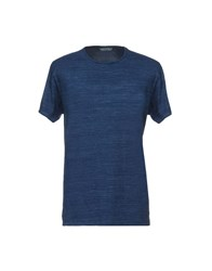 Rvlt Revolution T Shirts Dark Blue