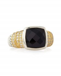 Lagos Embrace Noir Spinel Ring Size 7