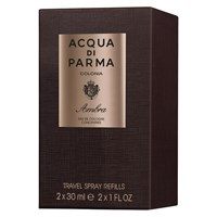 Acqua Di Parma Colonia Ambra Eau De Cologne Concentree Travel Refill Spray 2 X 30Ml