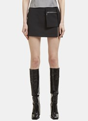 Alyx Pocket Mini Skirt Black