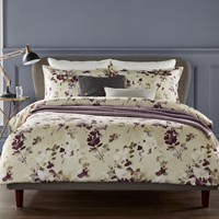Christy Yves Duvet Set Fig Purple