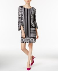 Inc International Concepts Petite Printed Bell Sleeve Shift Dress Only At Macy's Grandeur Paisley