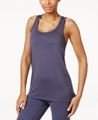 Gaiam Be Authentic Graphic Yoga Tank Top Odyssey Gray