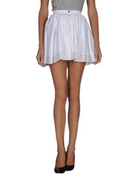 Alaia Alaia Mini Skirts White