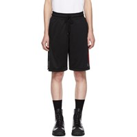 Marcelo Burlon County Of Milan Black Nba Band Shorts
