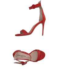 Aldo Castagna Sandals Brick Red