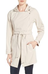 Bernardo Women's Breathable Microfiber Trench Coat