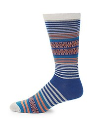 Ugg Striped Crew Socks Multi Stripe