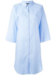 Ter Et Bantine Oversized Shirt Blue