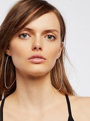 Free People Wire Shape Hoops By