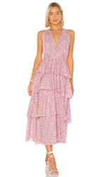 Petersyn Paulina Dress In Pink. Pacific