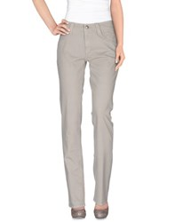 Carlo Chionna Trousers Casual Trousers Women Grey