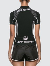 Off White Athletic T Shirt Black