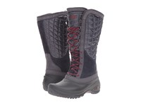 The North Face Thermoball Utility Nine Iron Grey Calypso Coral Women's Boots Gray