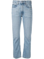 Brock Collection Straight Cut Jeans Blue