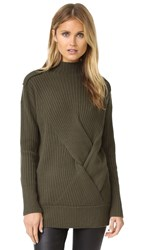Rag And Bone Dale Turtleneck Sweater Army